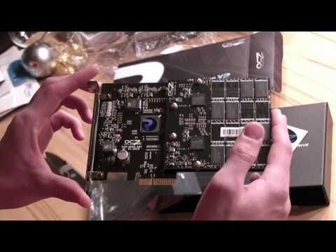 OCZ RevoDrive x2 PCIe 100GB Unboxing und Review