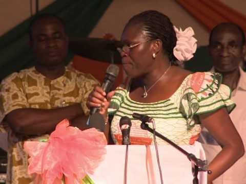Côte d'Ivoire: Simone Gbagbo en meeting devant les partisans du clan