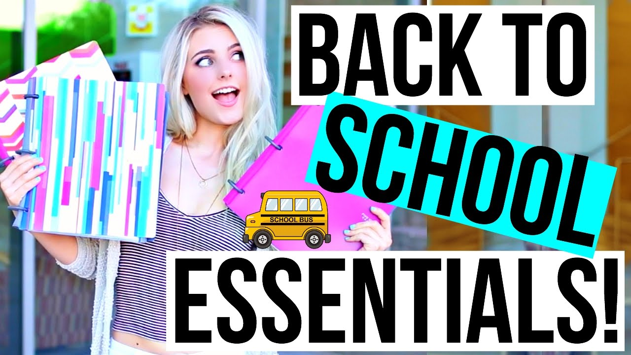 Back to School Essentials + Locker Organization! | Aspyn Ovard