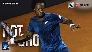 Watch Hot Shot: Monfils Fires Forehand Winner