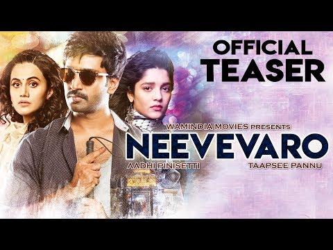 NEEVEVARO (2019) Official Hindi Teaser | Aadhi Pinisetty,Taapsee Pannu,Ritika | South Movies 2019 thumbnail