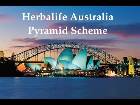 Herbalife Australia Pyramid Scheme Formula 2015