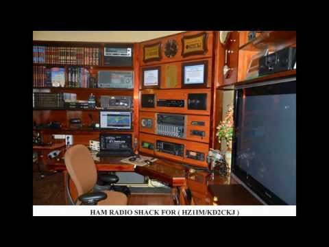 HAM RADIO SHACK FOR HZ1IM / KD2CKJ