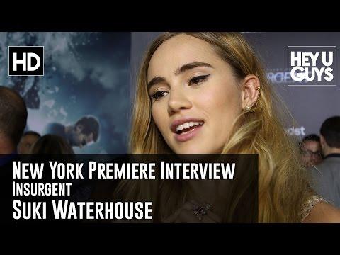Suki Waterhouse Interview - Insurgent New York Premiere