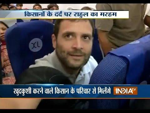 Rahul Gandhi leaves for Amravati for his 'padyatra'