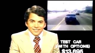WTVJ / MIAMI - Bob Mayer 'Behind The Wheel' Of The 1978 Lincoln Versailles