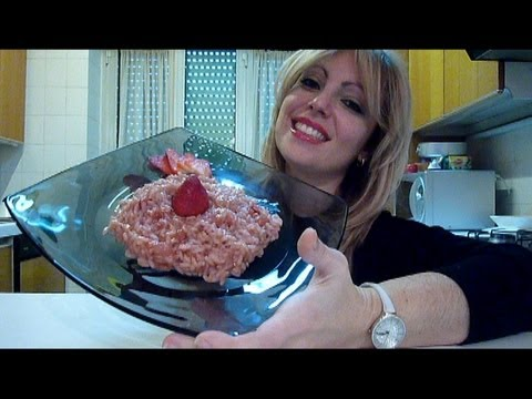 Ricetta risotto fragole e champagne, un primo per san valentino!