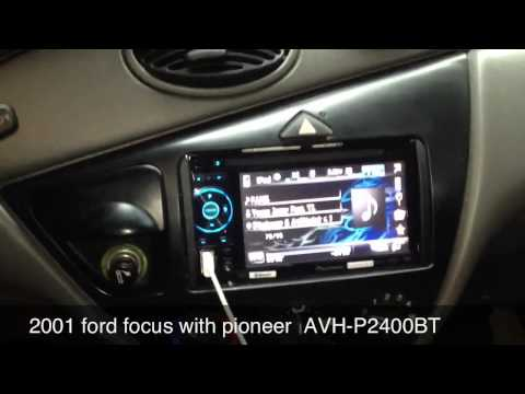Ford Focus 2001 with pioneer  AVH-P2400BT
