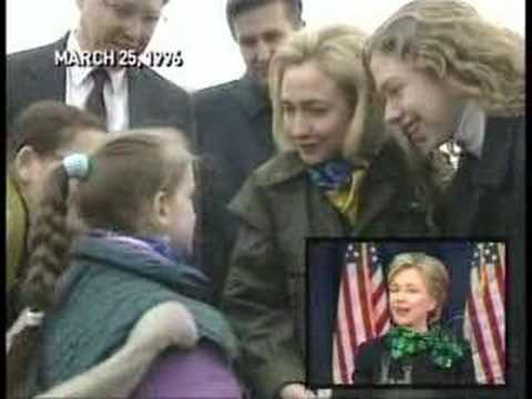 CBS Exposes Hillary Clinton Bosnia Trip. Video