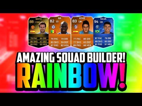 AMAZING RAINBOW SQUAD BUILDER! w/ MOTM, TOTY & INFORMS! | FIFA 14 Ultimate Team
