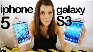 iPhone 5 vs Galaxy S3 (S III) comparativa en español