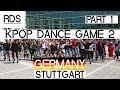 [PART 1] KPOP RANDOM DANCE GAME IN PUBLIC 2.0   STUTTGART GERMANY   19.05.18