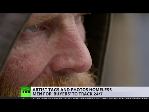 'Look more homeless!' Artist creates controversial 'tag-your-homeless' app to track people 24/7