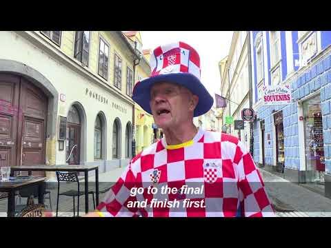 In Croatia, fans eagerly await World Cup semi final thumbnail