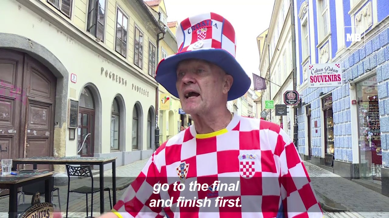 In Croatia, fans eagerly await World Cup semi final