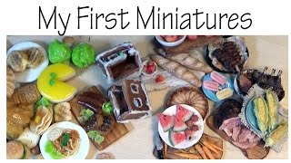 My First Polymer Clay Miniatures *VS* Newer - SugarCharmShop