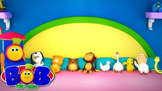 Ten In The Bed | Nursery Rhymes Songs By Bob The Train | Kids Music Videos by Bob The Train