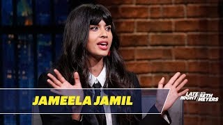 Jameela Jamil Accidentally Used a Vibrator as a Hair Curler