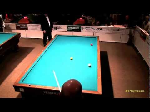 3-Cushion Billiards: Roland Forthomme High Run of 28