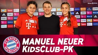 """I wanted to play outfield"" - Manuel Neuer answers FC Bayern KidsClub questions 🗣️👦👧"