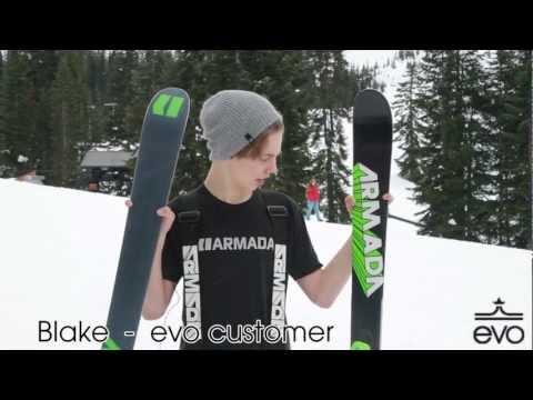 2013 Armada AR7 Skis Review