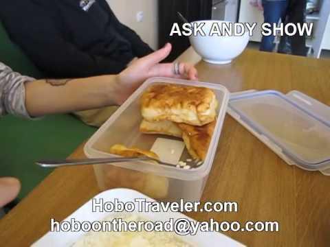 Traditional Kosovo Breakfast in Han Hostel Pristina
