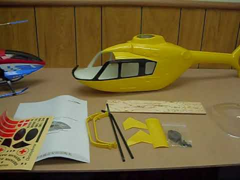 450 Scale Fuselage Install on ESky Belt CP V2 pt 1