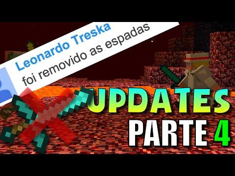 SE AS ESPADAS FOSSEM REMOVIDAS (Minecraft Updates) #4
