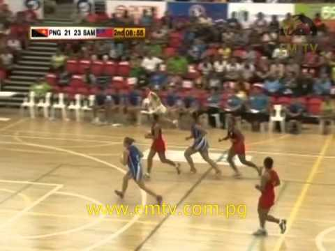 PNG Pepes Upset Samoa in Netball