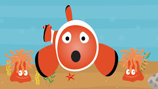 Animated Surprise Easter Eggs for Learning Colors Part 6