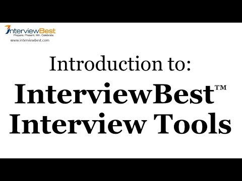 InterviewBest Introduction - A unique approach to winning job interviews