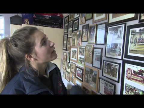 Showjumping - Jessica Mendoza At Home April 2012