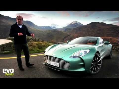 Aston Martin One-77 drive world exclusive review HD (Car Footage)