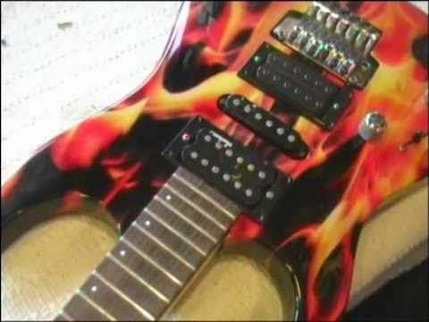 Guitar tuning customizacion fuego youtube - Instrumentos musicales leganes ...