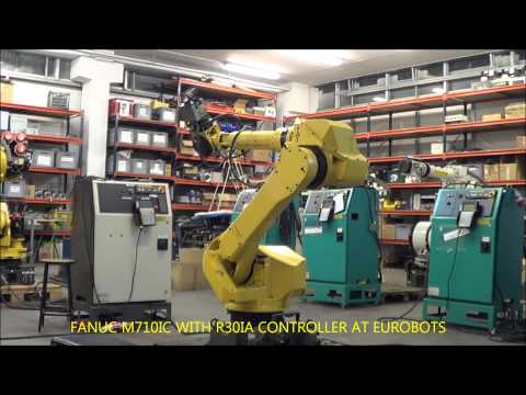 FANUC M710IC WITH R30IA CONTROLLER AT EUROBOTS