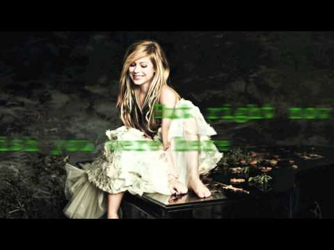 Avril Lavigne - Wish You Were Here (acoustic Instrumental W  Lyrics) video