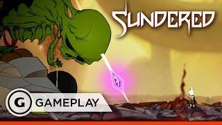 Sundered - Boss Fight Gameplay