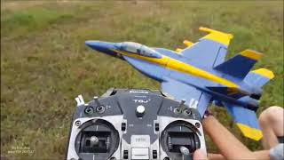 f-18 rc jet edf 50mm test
