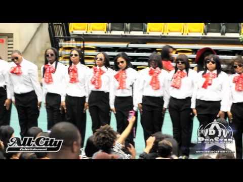 Delta Sigma Theta - DST Spring 2012 Probate - NSU - YouTube