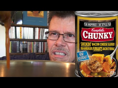 Campbell's Smokin' Bacon Cheese Sliders Review