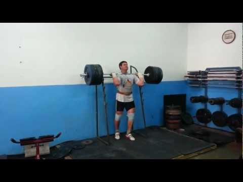 Push Press 215kg - Powerlifting - Igor Lukanin +105 Kg Image 1
