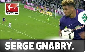 Must-See! Gnabry's Wonder Goal Against Gladbach