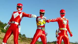 FANMADE Power Rangers Dino Charge Dino War Part 1