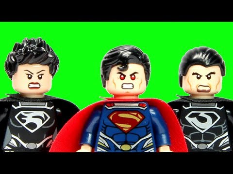LEGO Superman Battle of Smallville 76003 LEGO Man of Steel DC Super Heroes Review