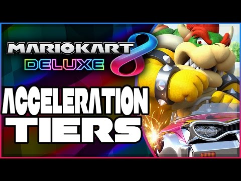 Mario Kart 8 Deluxe Acceleration Tiers!  Tips To MAXIMIZE Your Combo!