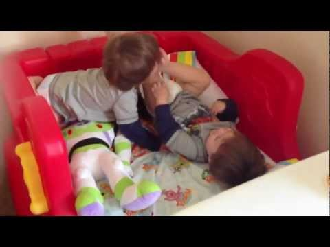 0 19 month old twins and toddler beds