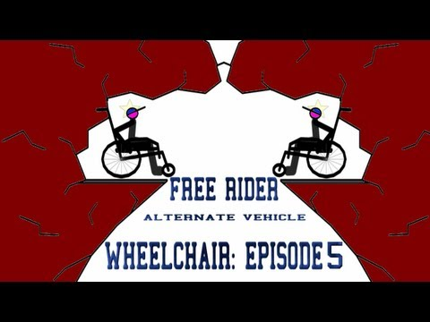 Free Rider Wheelchair: Episode #5 - Triple Backflip!