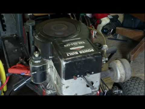 New Engine! 12.5 HP Horsepower Briggs and Stratton Power Built Engine