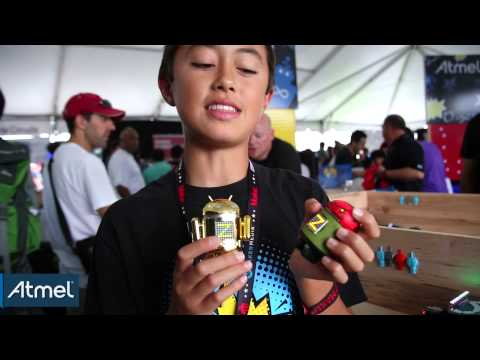 Atmel Live!: Quin Etnyre at World Maker Faire 2014