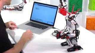 How to make your robot drive (Learn to program tutorial) - LEGO MINDSTORMS - 4